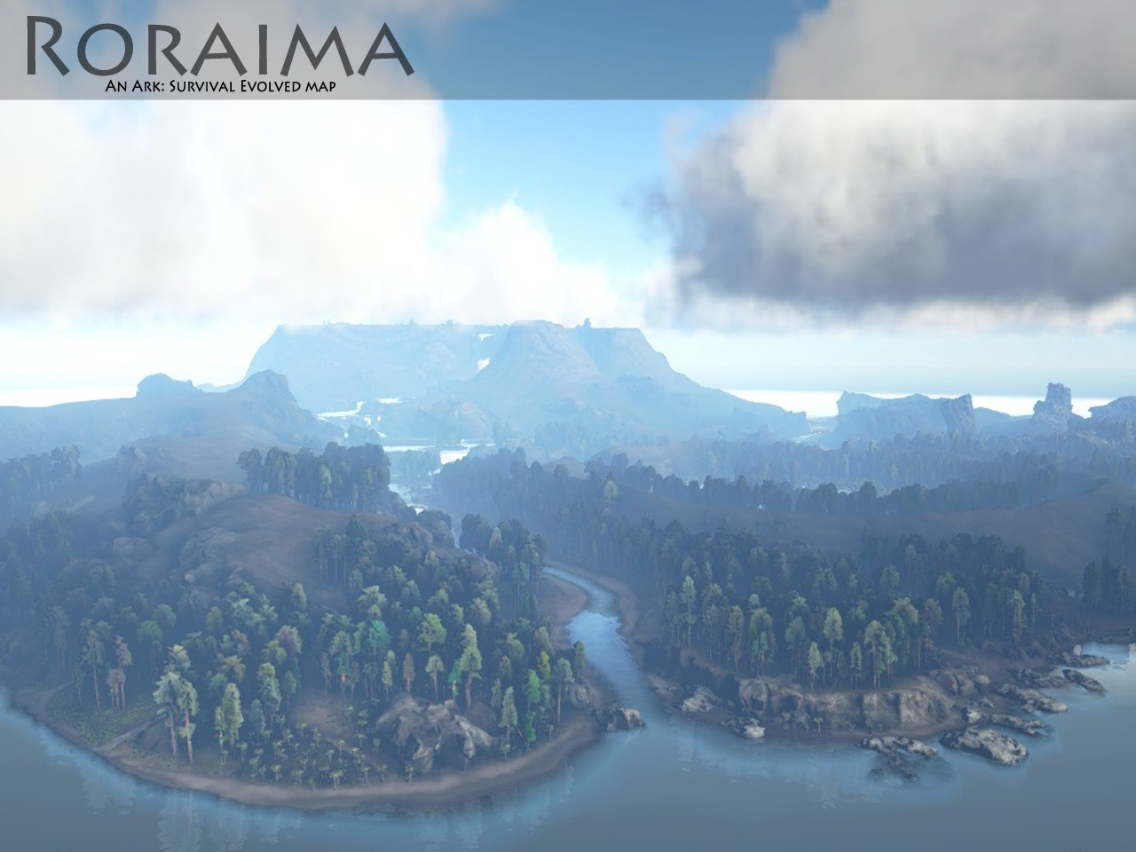 The Island Ark Map New