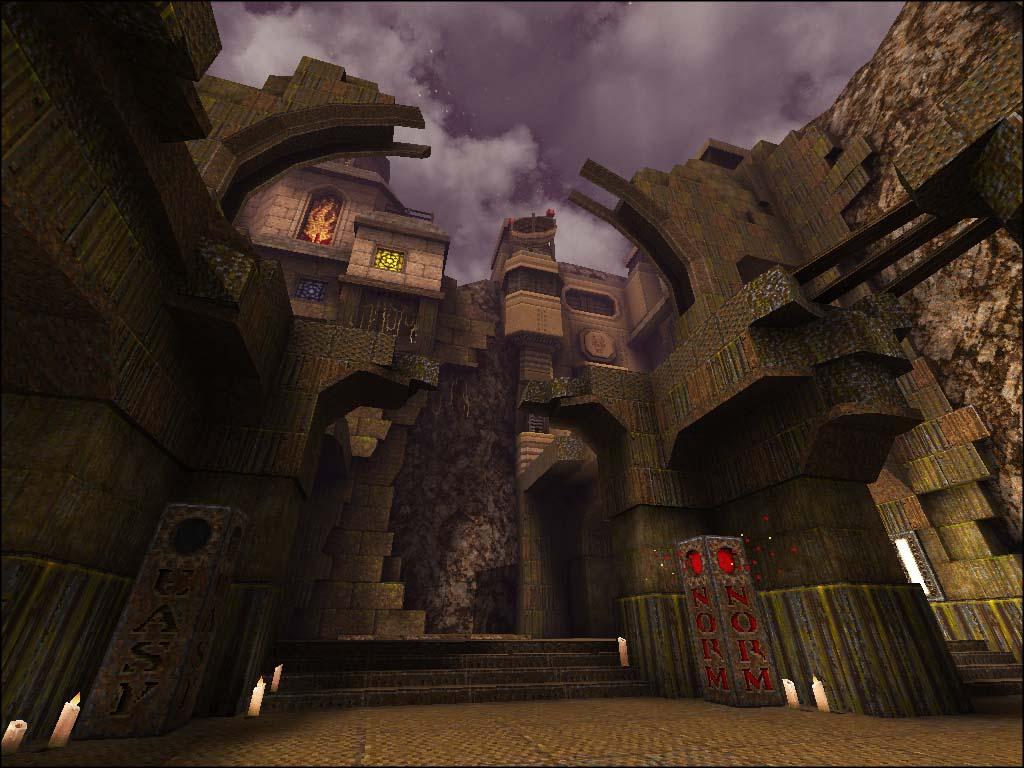 Quake 1 SP MOD - Arcane Dimensions - 3D - Mapcore