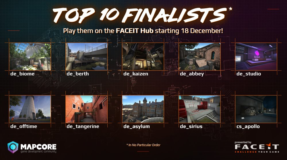 Contest Finalists have been declared!