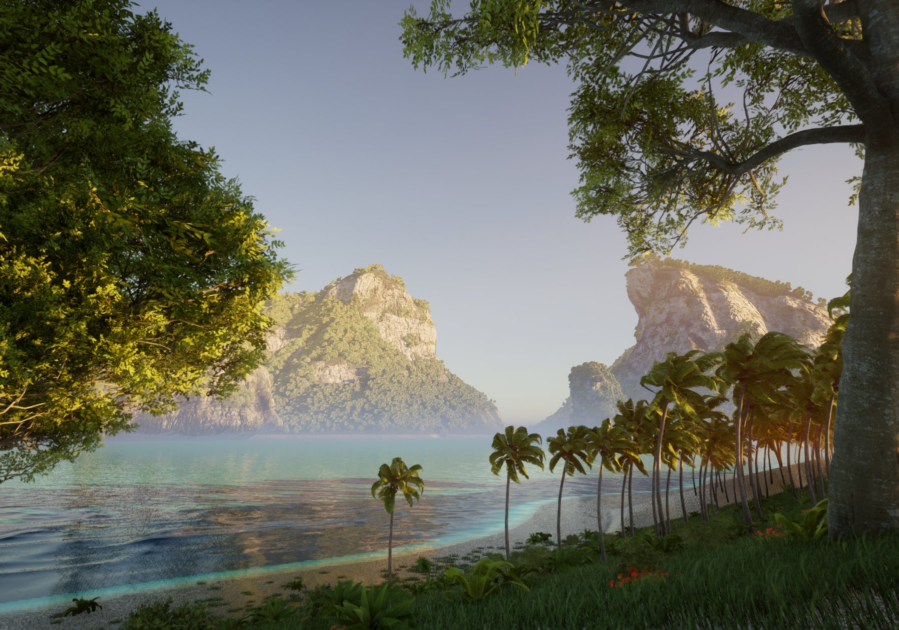[UE4] Island Environment [W.I.P]